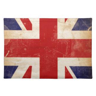 British Union Jack Flag Cloth Placemat