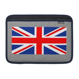 """British Union Jack flag on MacBook Air 11"""" sleeve. MacBook Sleeve"""