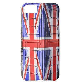 British Union Jack Flag Phone Box Case For iPhone 5C