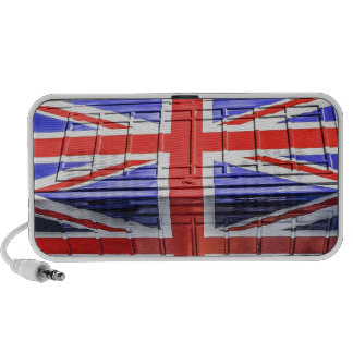 British Union Jack Flag Phone Box Mp3 Speakers