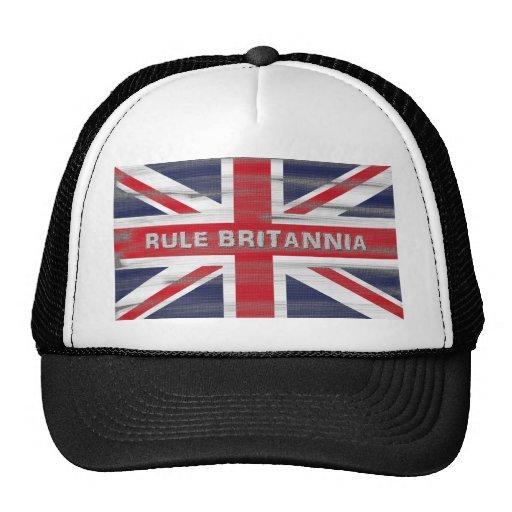 British Union Jack Flag Trucker Hat