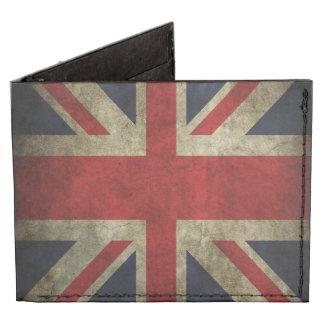 British Union Jack Flag Wallet Tyvek® Billfold Wallet
