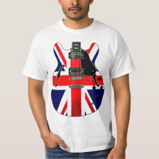 British Union Jack Guitar T-Shirt