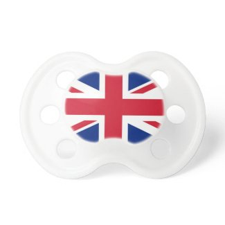 British Union Jack Pacifiers