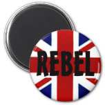 British/Union Jack REBEL Magnet