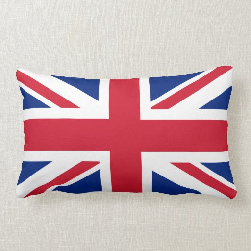 British Union Jack Throw Pillows Zazzle