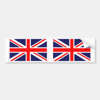 British Union Jack UK Flag Car Bumper Sticker
