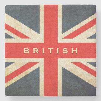 British Union Jack UK Flag Coaster Stone Beverage Coaster