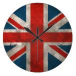 British Union Jack Wall Clocks