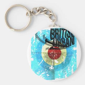 British Urban Legends Keychain