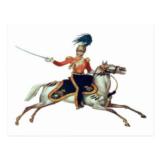 British Victorian Cavalry Postcard