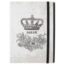 "British Victorian Floral Crown Stylish Vintage iPad Pro 12.9"" Case"
