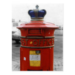 British Victorian pillar box - Liverpool Special 1 Postcard