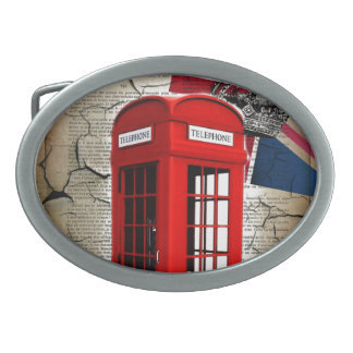 british vintage telephone booth london fashion belt buckles