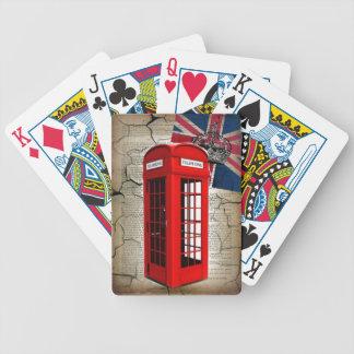 british vintage telephone booth london fashion card decks