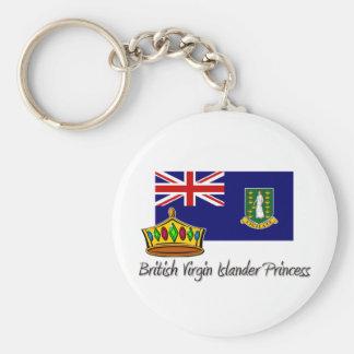 British Virgin Islander Princess Keychains