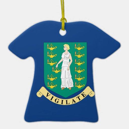 British Virgin Islands Adorno De Reyes
