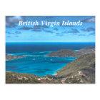 British Virgin Islands Bay Postcard