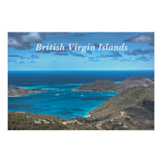British Virgin Islands Bay Print