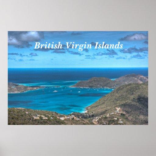 British Virgin Islands Bay Print