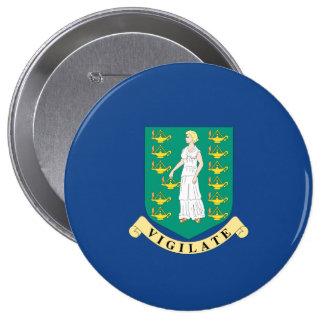 British Virgin Islands Button