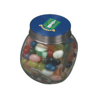 British Virgin Islands Jelly Belly Candy Jar