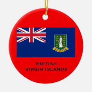BRITISH VIRGIN ISLANDS - Christmas Ornament