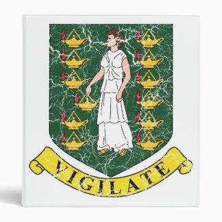 British Virgin Islands Coat Of Arms Binders
