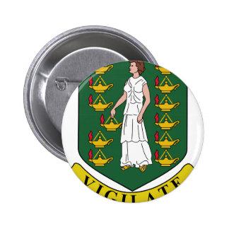 British Virgin Islands Coat of Arms Button