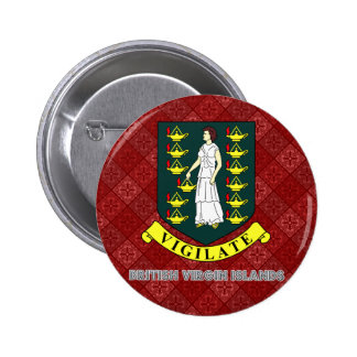 British Virgin Islands Coat of Arms Buttons