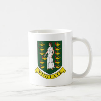 British Virgin Islands Coat Of Arms Coffee Mug