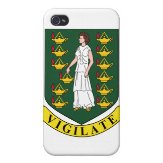 British Virgin Islands Coat Of Arms iPhone 4/4S Cover