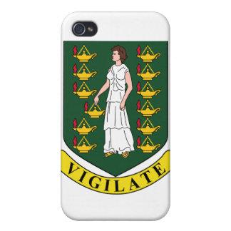 British Virgin Islands Coat Of Arms iPhone 4 Cases