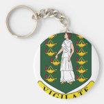 British Virgin Islands Coat Of Arms Keychains