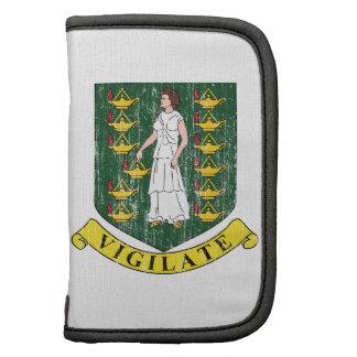 British Virgin Islands Coat Of Arms Folio Planner