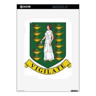 British Virgin Islands Coat of Arms Skins For iPad 2