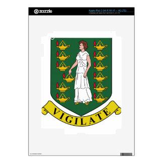 British Virgin Islands Coat of Arms Skins For iPad 3