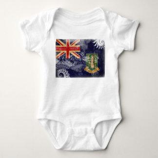British Virgin Islands Flag Baby Bodysuit