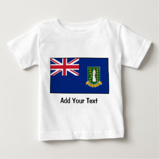 British Virgin Islands Flag Baby T-Shirt