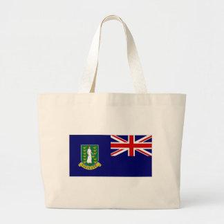 British Virgin Islands Flag Canvas Bag