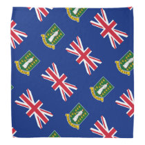 British Virgin Islands flag Bandana