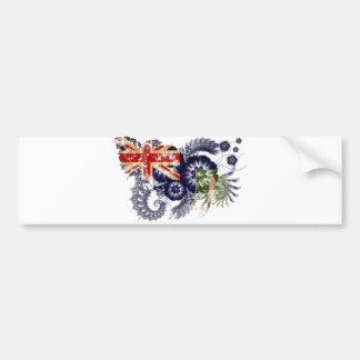 British Virgin Islands Flag Car Bumper Sticker