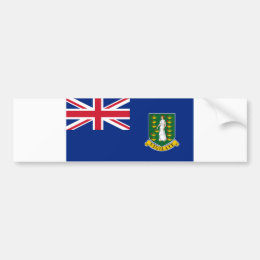 British Virgin Islands flag Bumper Sticker