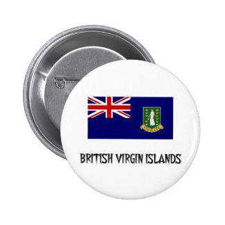 British Virgin Islands Flag Button