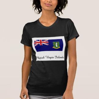British Virgin Islands Flag Design Tee Shirt