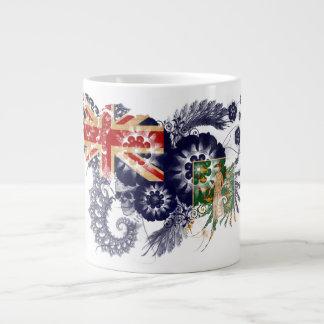 British Virgin Islands Flag Giant Coffee Mug