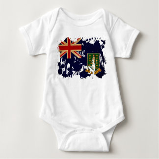 British Virgin Islands Flag Infant Creeper