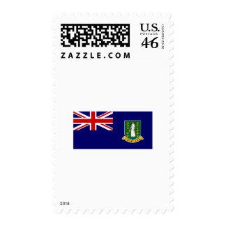 British Virgin Islands FLAG International Postage Stamp