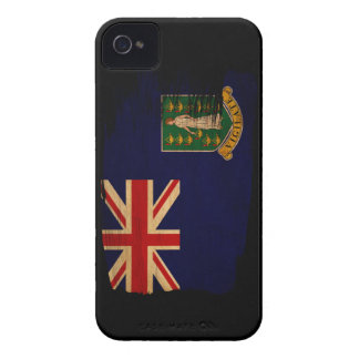 British Virgin Islands Flag iPhone 4 Case-Mate Case