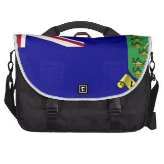 British Virgin Islands Flag Laptop Bags